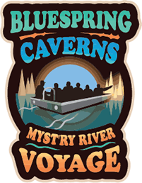 Bluespring Caverns Logo