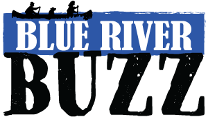 Blue River Buzz Graphic