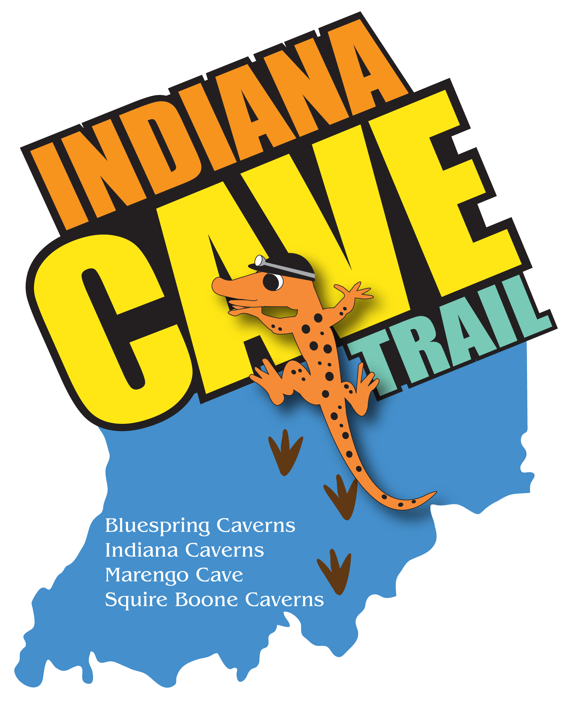 Indiana Cave Trail Logo