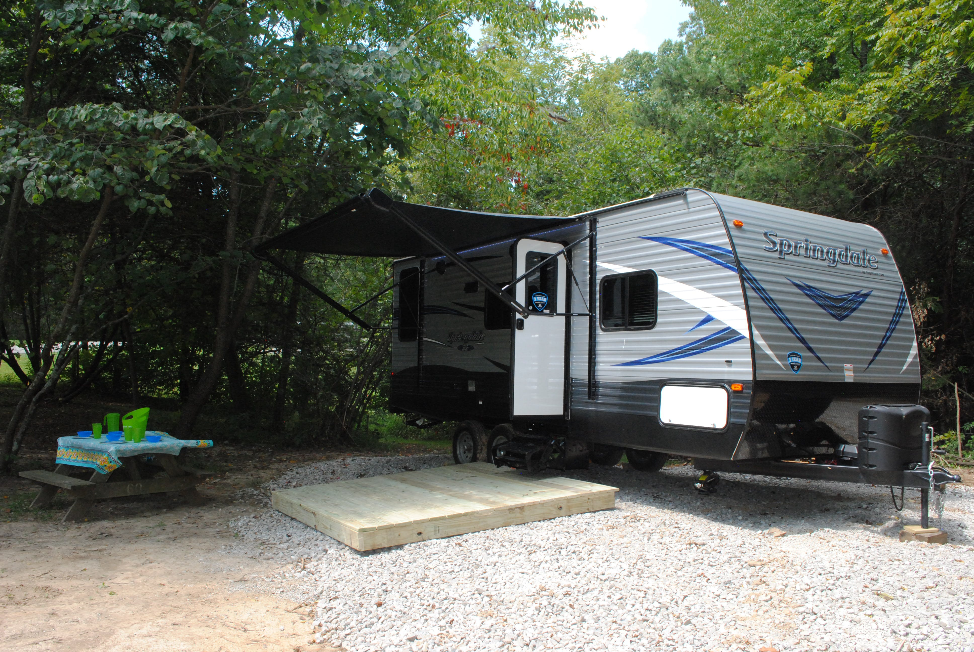 Rental RV's at Buffalo Trace Park