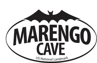 Marengo Cave-Black & White-Bat
