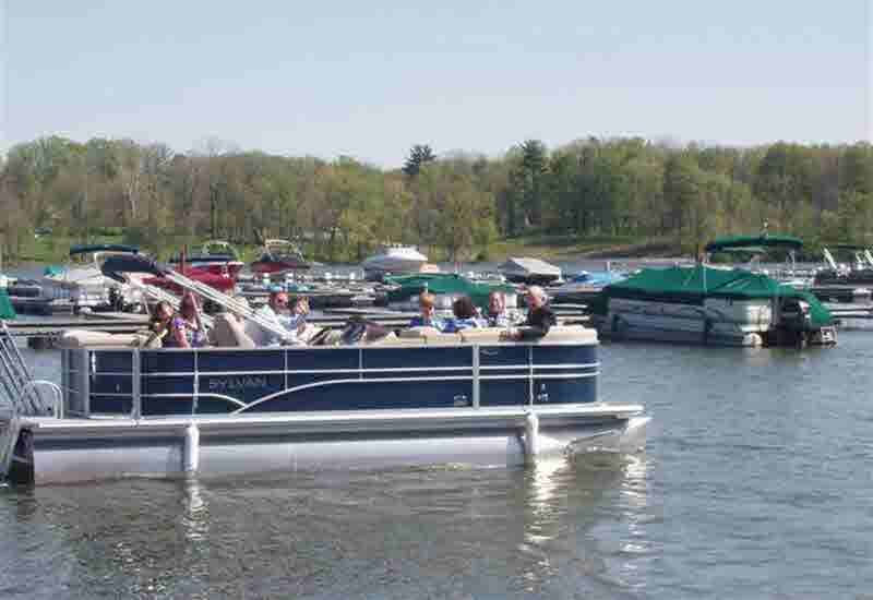ON A PONTOON Image